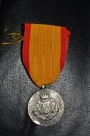 Médaille En Argent Bataille De St Mihiel Poilu Guerre 14-18 - Francia