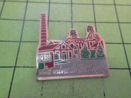 613a Pin's Pins / Beau Et Rare / THEME VILLES / LA MINE DE BOULIGNY - Städte