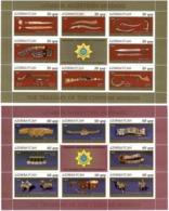 Azerbaijan 2011 . Customs Museum. 2 M/S, Each Of 8v +label.  Michel # 866-81 KB - Azerbaiján