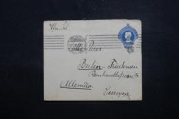 BRÉSIL - Entier Postal De Sao Paulo Pour L 'Allemagne - L 44063 - Postwaardestukken
