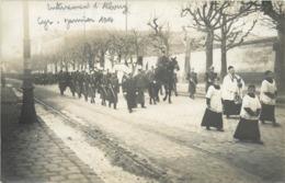SAINT CYR L'ECOLE - Enterrement D'Albouy, Carte Photo H Noart En 1914. - St. Cyr L'Ecole