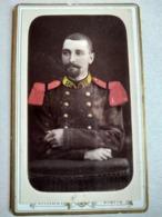 CDV MONTBRISON - Photographie Colorisée Militaire 16 ème Régiment Infanterie  - TBE - Guerre, Militaire