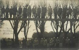 ECOLE SPECIALE MILITAIRE DE SAINT CYR - Arrivée Du Lycée, Les Reçus De 1913  (carte Photo H Noart En 1913) - St. Cyr L'Ecole