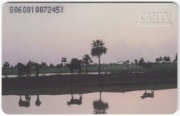 VENEZUELA B-181 Chip CanTV - Landscape, River - Used - Venezuela