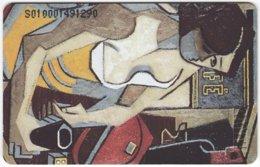 VENEZUELA B-194 Chip CanTV - Painting, Modern Art - Used - Venezuela