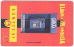 VENEZUELA B-202 Chip CanTV - Communication, Phone Booth - Used - Venezuela