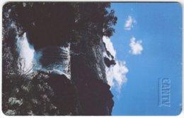 VENEZUELA B-211 Chip CanTV - Landscape, Waterfall - Used - Venezuela