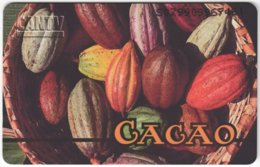 VENEZUELA B-215 Chip CanTV - Food, Cacao - Used - Venezuela
