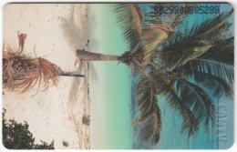 VENEZUELA B-239 Chip CanTV - Landscape, Coast - Used - Venezuela