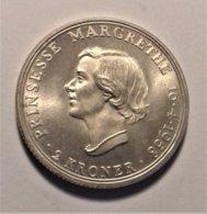 Denmark 2 Krone  1958 , Silver - Dänemark