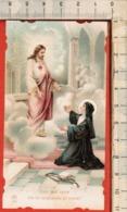 "Antico Santino ""AR-n.116 A.S.Margherita Maria Alacoque"" Mediolani 1920 - Religion & Esotérisme"