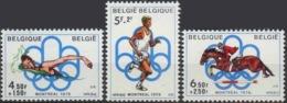 --- 1976 BELGIQUE Yvert 1795 - 1797** Michel 1852 - 1854** - Belgique