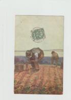RECOLTE DES POMMES DE TERRE - Schilderijen