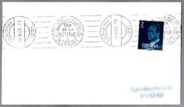 Rodillo REFERENDUM NACIONAL - DIA DE LA CONSTITUCION - 6 DE DICIEMBRE. San Sebastian, Pais Vasco, 1978 - 1931-Hoy: 2ª República - ... Juan Carlos I