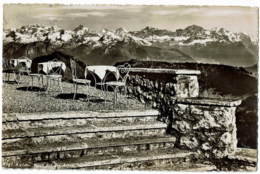 Rigi Kulm  Blick Auf Dia Alpen - LU Lucerne