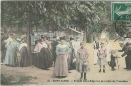 HAUTS DE SEINE : St Cloud, Grande Allée D'Apollon Au Jardin Du Trocadéro - Saint Cloud