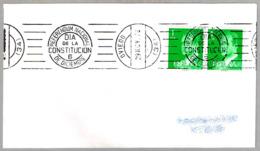 Rodillo REFERENDUM NACIONAL - DIA DE LA CONSTITUCION - 6 DE DICIEMBRE. Oviedo, Asturias, 1978 - 1931-Hoy: 2ª República - ... Juan Carlos I