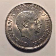 Denmark 2 Krone  1945 , Silver - Dänemark