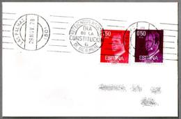 Rodillo REFERENDUM NACIONAL - DIA DE LA CONSTITUCION - 6 DE DICIEMBRE. Las Palmas, Canarias, 1978 - 1931-Hoy: 2ª República - ... Juan Carlos I