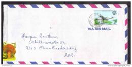 BAHAMAS Brief Cover Lettre 552 Luftfahrt 200 Jahre Flugzeug (Scan)(13022) - Bahamas (1973-...)