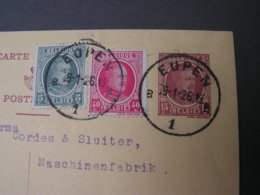 Eupen Karte 1926 - Postcards [1909-34]