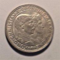 Denmark 2 Krone  1923 , Silver - Dänemark