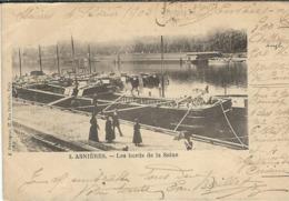 HAUTS DE SEINE : Asnières, Les Bords De Seine - Asnieres Sur Seine