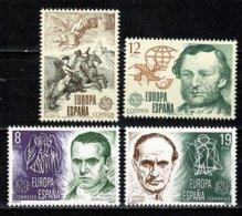 Spanje 1979/1980 EUROPA Yv 2166/67**, 2214/2215** MNH - 1931-Aujourd'hui: II. République - ....Juan Carlos I