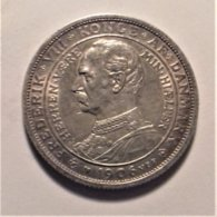 Denmark 2 Krone  1906 , Silver - Dänemark