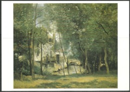 Carte Postale - Camille Corot - Le Moulin De Saint Nicolas Lez Arras - TBE - Non Voyagé - Peintures & Tableaux