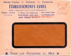 Pêche Poisson, Marée, Salaison Conserve, Boulogne, Lunel - EMAHavas CW - Enveloppe Entière  (V408) - Autres Collections