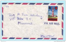 BARBADOS - Brief Cover Lettre 304 Leuchtturm Bauwerk (Scan)(23153) - Barbados (1966-...)