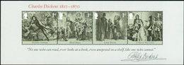 GRANDE-BRETAGNE Bloc Charles Dickens 2012 Neuf ** MNH - 1952-.... (Elizabeth II)