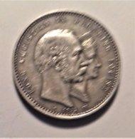 Denmark 2 Krone  1892 , Silver - Dänemark