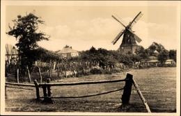 Cp Graal Müritz Im Kreis Rostock, Ortspartie Mit Blick Zur Windmühle - Allemagne