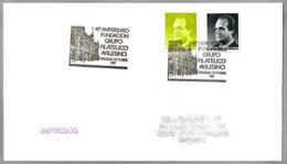40 Aniv. Grupo Filatelico - TEATRO ARMANDO PALACIO VALDES. Aviles, Asturias, 1991 - Theatre