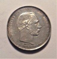 Denmark 2 Krone  1888 , Silver - Dänemark