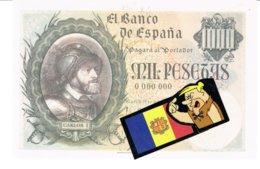 Billet Facsimil  1000 Pts 0000000 España Espagne1940octubre - [ 3] 1936-1975: Regime Van Franco