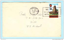 BARBADOS - Brief Cover Lettre 301 Fort St. Ann Militär Bauwerk SST Slogan Cachet (Scan)(23151) - Barbados (1966-...)
