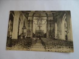 Cpa - La Guerche De Bretagne - (35) - Intérieur De L'église - La Guerche-de-Bretagne