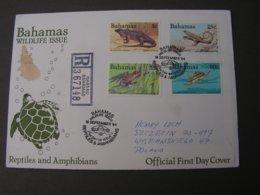 Bahamas Cv. 1984  Schildkröte Stempel , Selten - Bahamas (1973-...)