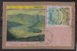 Italy 2001, Stampprint €2,58 On Silk Or Fabric, Vfu - 2001-10: Usati