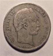 Denmark 2 Krone  1875 , Silver - Dänemark