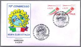 60 CONGRESO VESPA CLUB DE ITALIA - Moto. Viareggio, Lucca, 2019 - Motos