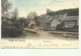 Petit Modave - Nels Serie 55,nr 142, Ingekleurd  ( 2 Scans) 1908 - Modave