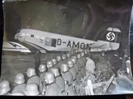 PHOTO Presse WW2 WWII : JUNKER Ju-52 _ LUFTHANSA _ Ligne BERLIN - Buenos Aires - Guerre, Militaire
