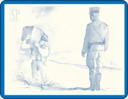Riproduzione Di Un Acquerello Contrabbando Polizia La Contrebande Policia Smuggling - Acquarelli