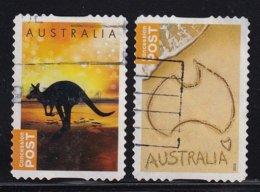 Australia 2014, 2 Stamps, Consession Post, Vfu - Oblitérés