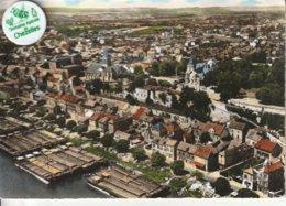 78 - Très Belle Carte Postale Semi Moderne Dentelée De  CONFLANS SAINTE HONORINE    Vue Aérienne - Conflans Saint Honorine