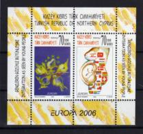 CHYPRE TURC Turkish Cyprus  2006 Europa Yv Bl 24 MNH ** - Unused Stamps